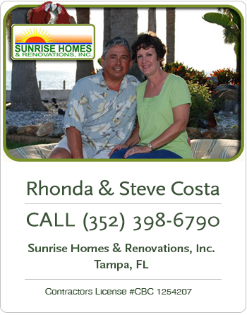 , Contact, Sunrise Homes & Renovations, Inc., Sunrise Homes & Renovations, Inc.